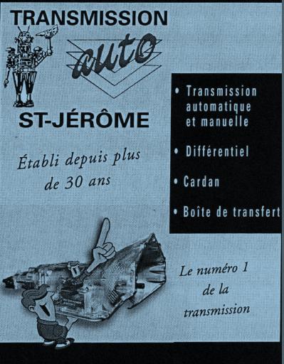 Transmission DAuto Saint-Jérome | 2085 Boul du Curé-Labelle, Saint-Jérôme, QC J7Y 1S7 | +1 450-438-8775