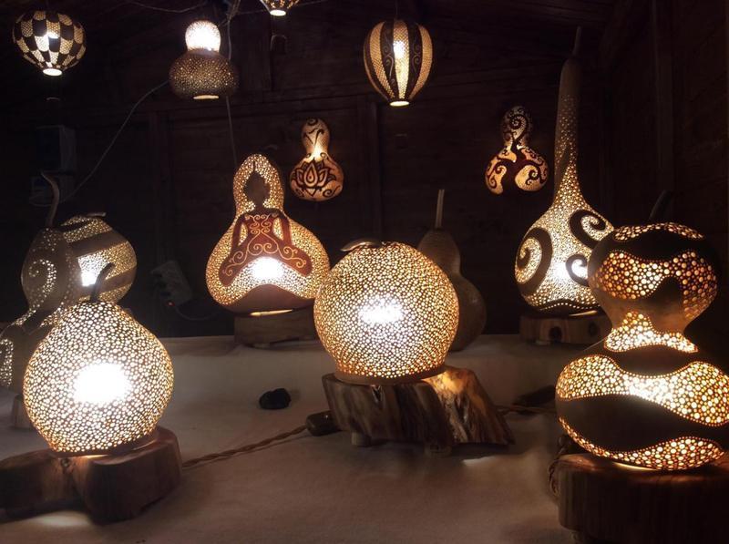 Lampade in Zucca