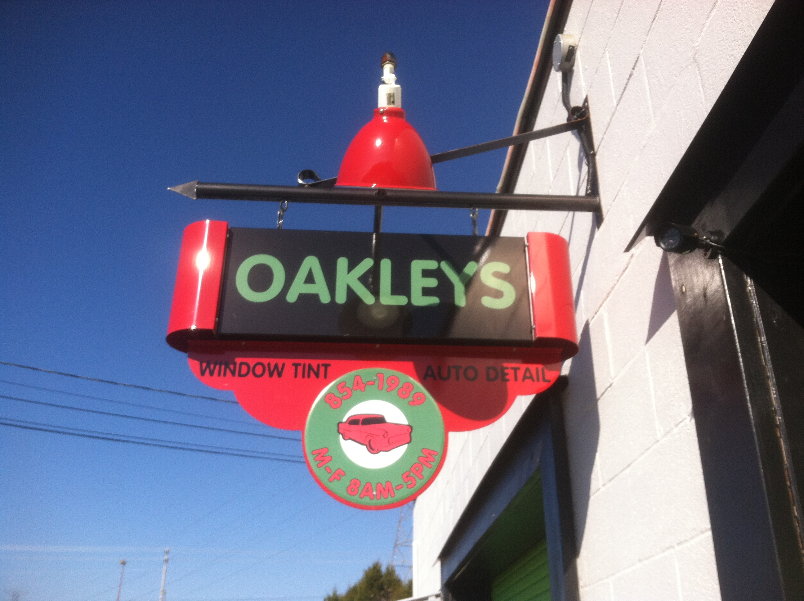 Oakleys Window Tinting image 0