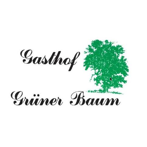 Logo von Gasthof Grüner Baum Inhaber Bernhard Weinmann
