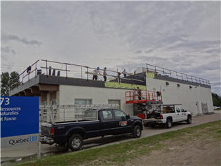 Couverture Plante & Frères Inc à Chicoutimi