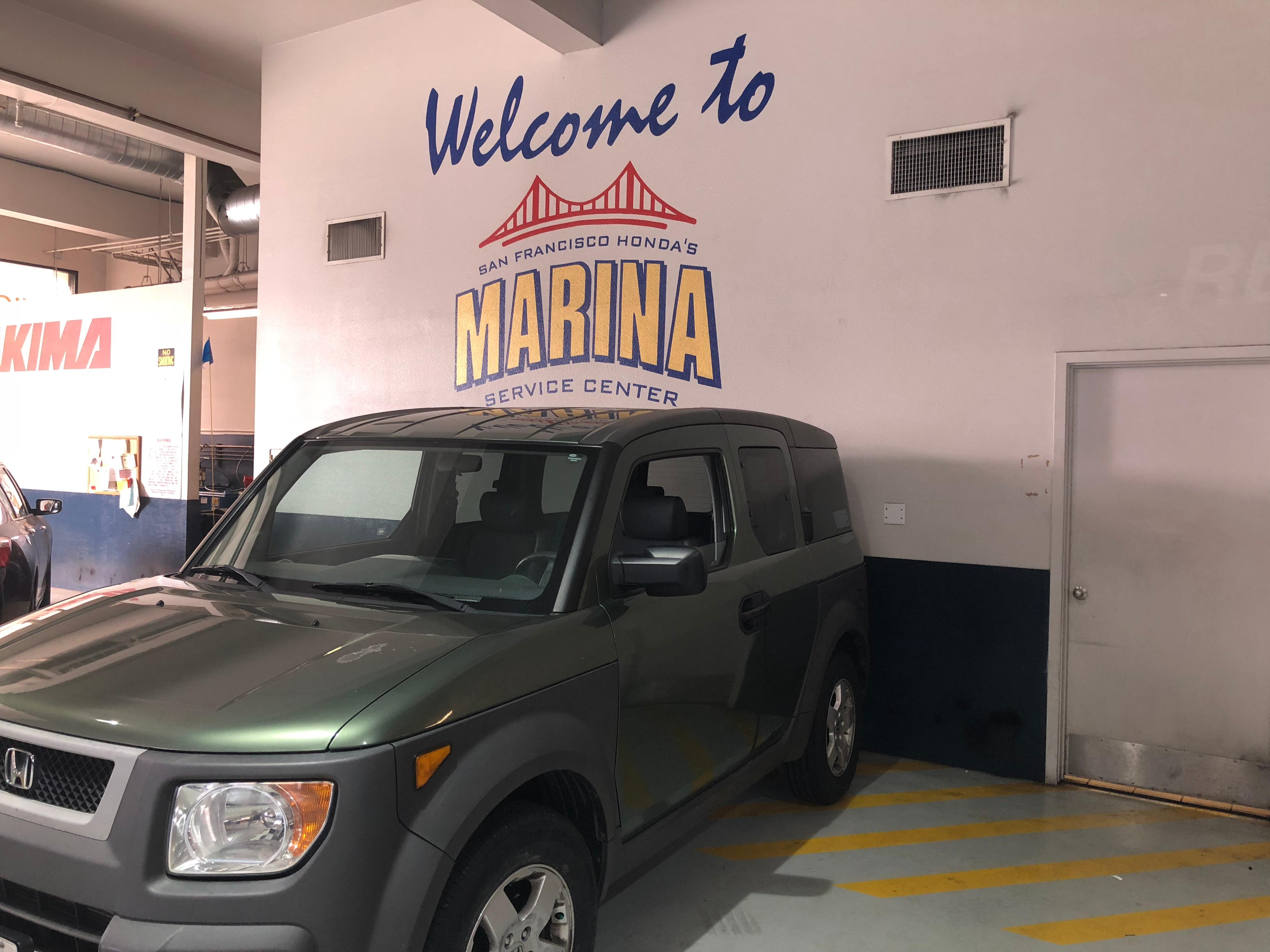 San Francisco Honda Marina Service Center