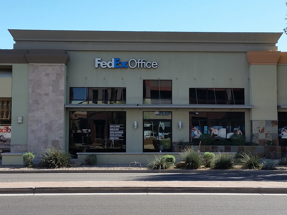 Fedex office print ship center in scottsdale az for Wild fish scottsdale az