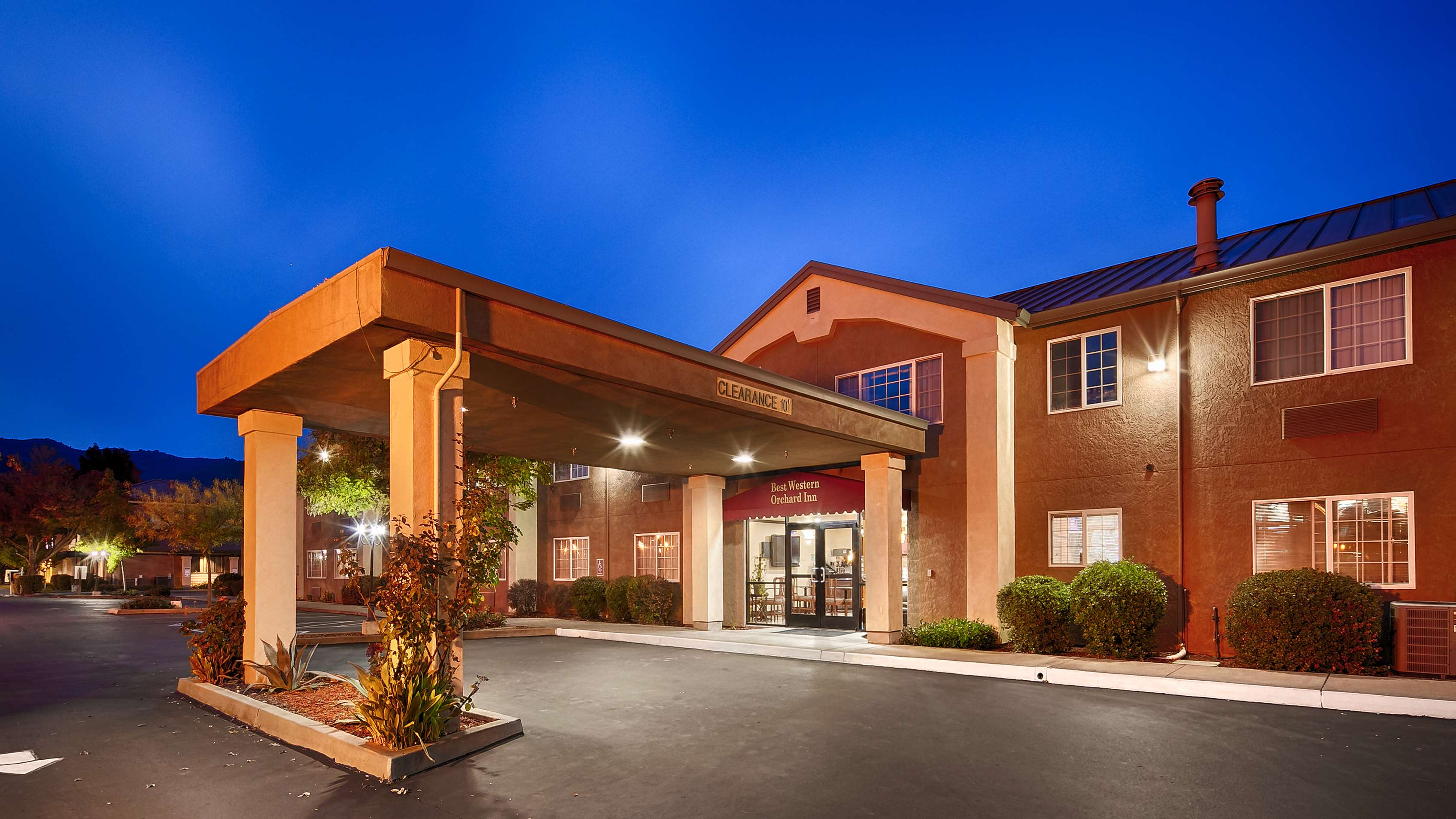 Best Western Orchard Inn At 555 S Orchard Ave  Ukiah  Ca