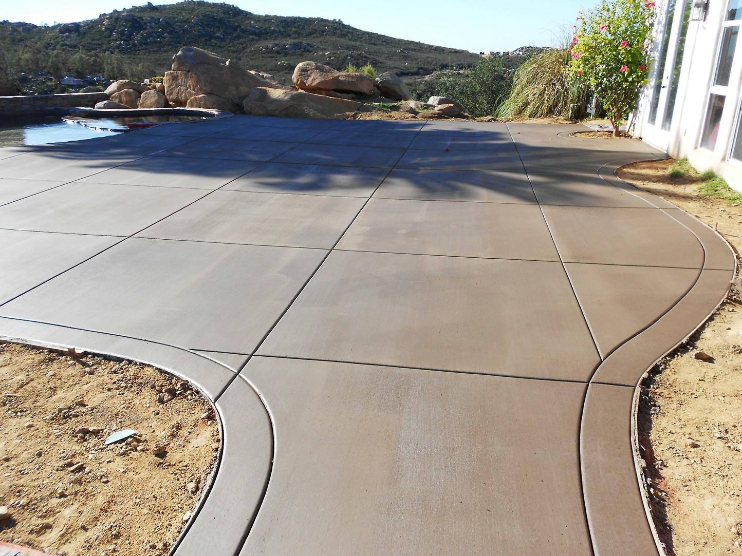 Concrete Patio Work : J d brown concrete construction business profile