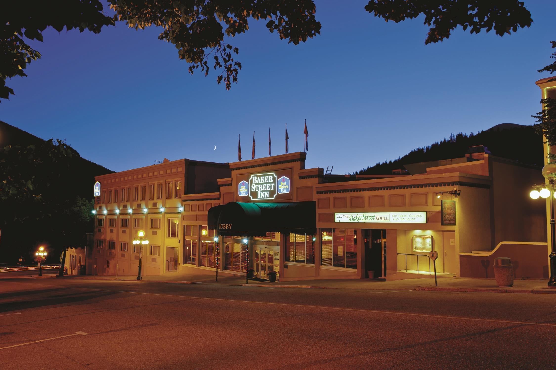 Best Western Plus Baker Street Inn & Convention Centre in Nelson: Exterior