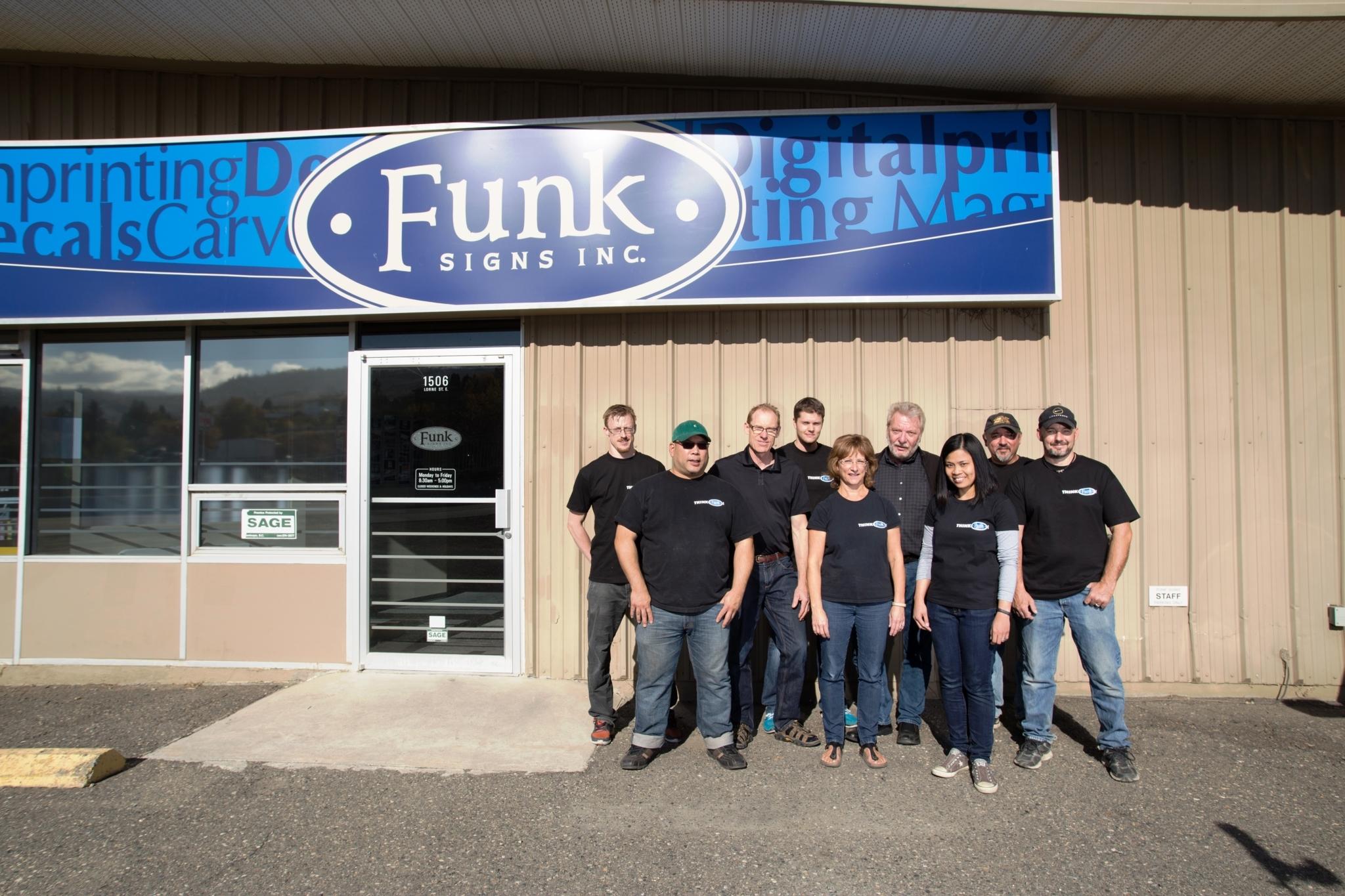 Funk Signs Inc in Kamloops