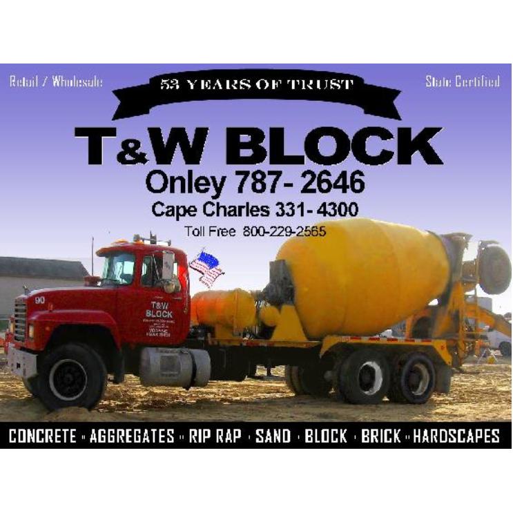 T & W Block, Inc.