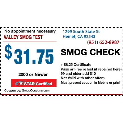 Valley Smog Test image 1