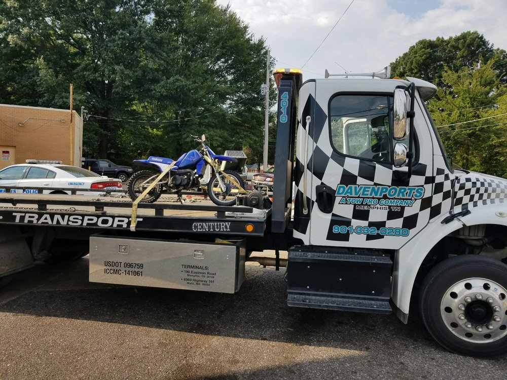 Davenport can help with your towing needs, big or small