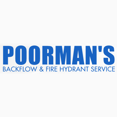 Poorman's Back Flow & Fire Hydrant Service