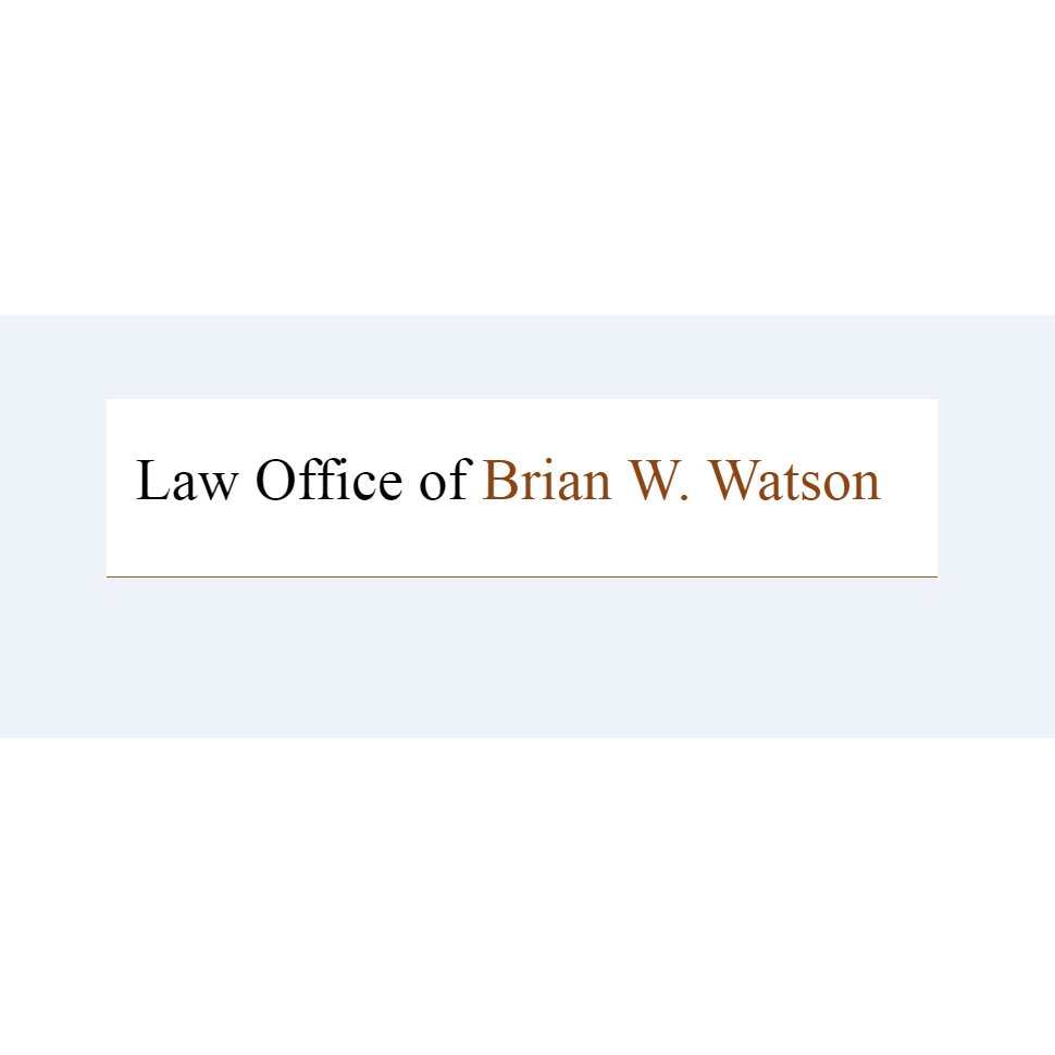 The Law Office of Brian W. Watson