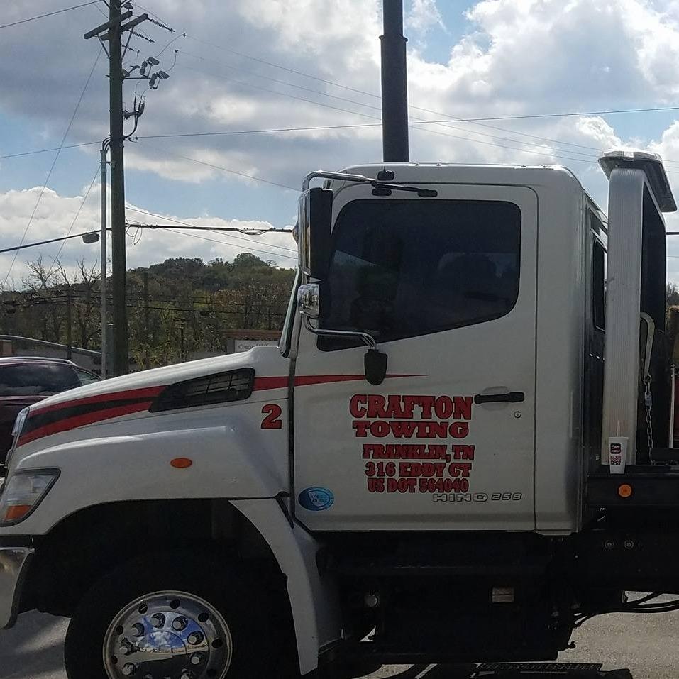 Crafton Towing LLC - Franklin, TN 37064 - (615)794-2355 | ShowMeLocal.com