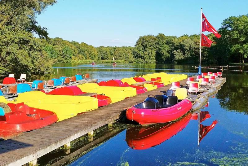 Kano's-Waterfietsenverhuur Amsterdamse Bos