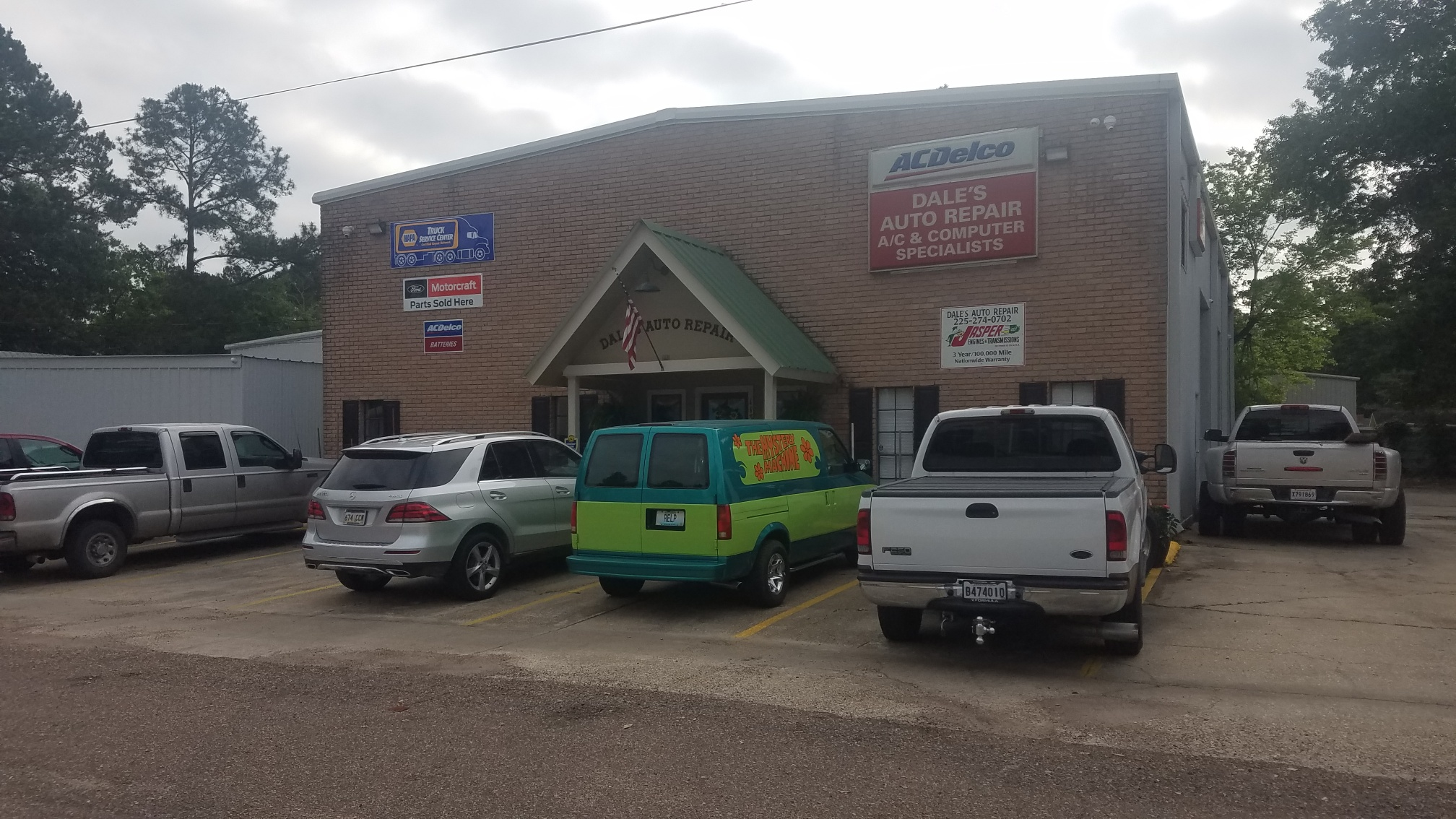 Call Dale's Auto Repair today to schedule your next vehicle appointment
