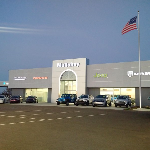 Mullahey Chrysler Dodge Jeep Ram In Paso Robles, CA 93446