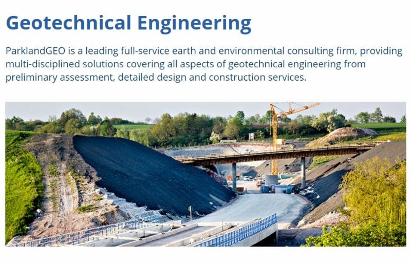 Parkland Geotechnical Consulting Ltd