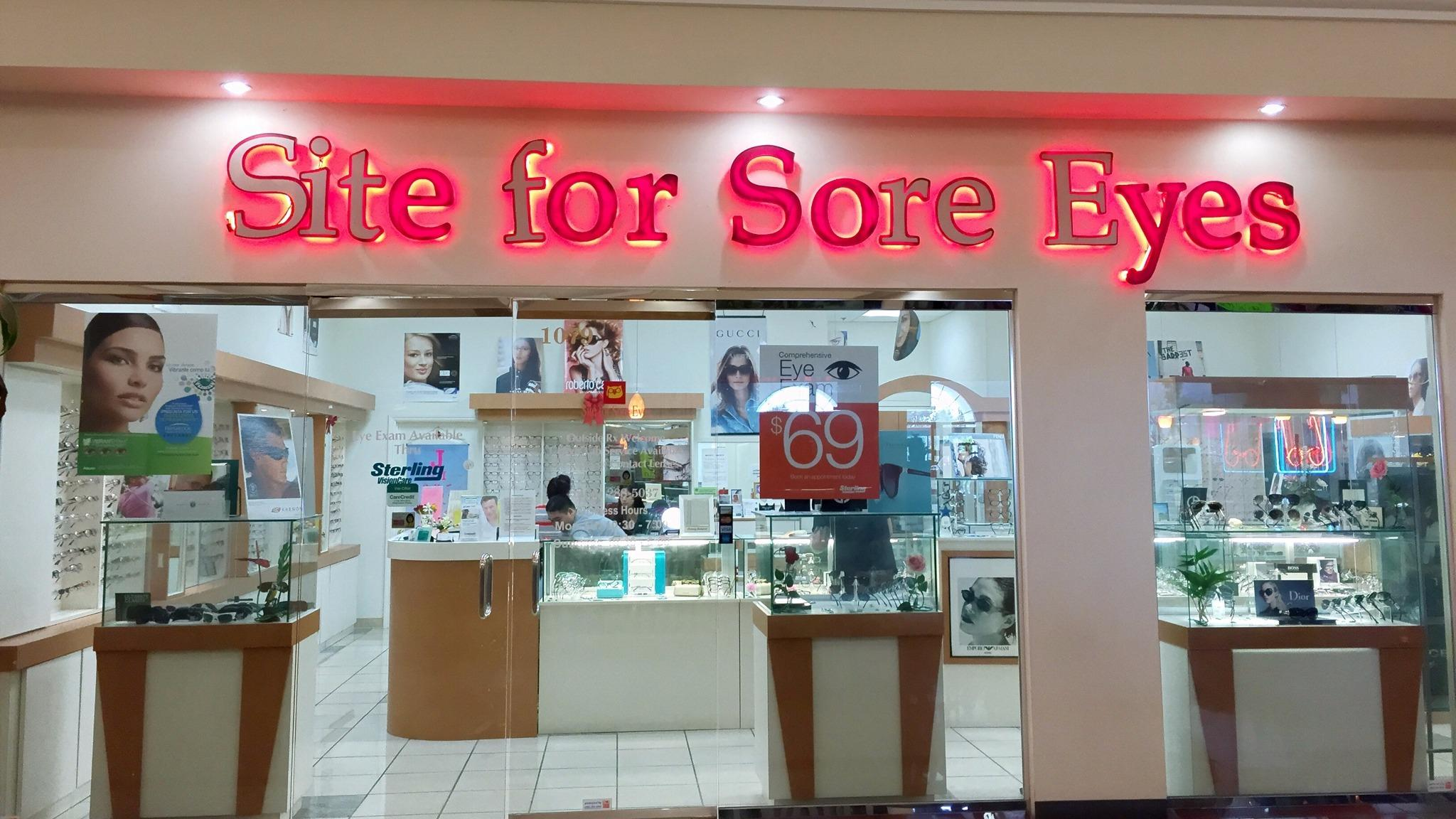 Site for Sore Eyes image 0