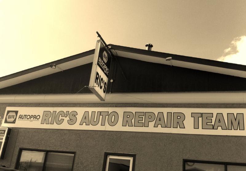 Ric's Auto Repair Team