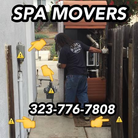 The Spa Uber | Pro Spa & Hot Tub Movers