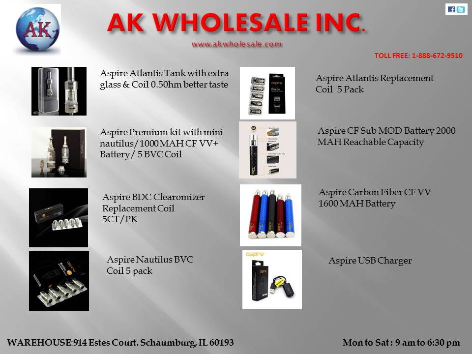 ASPIRE PRODUCTS