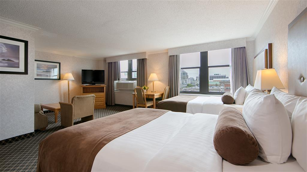 Best Western Plus Carlton Plaza Hotel in Victoria: Studio Two Doubles Room