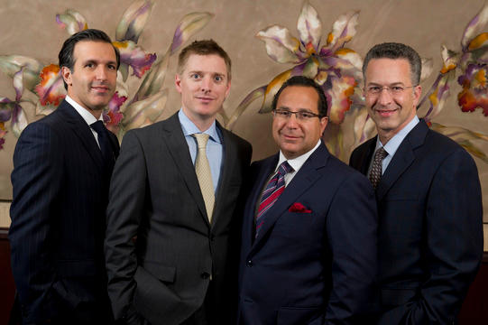 Plastic surgeons David Light, MD, Peter Korn, MD, Randall Feingold, MD and Ron Israeli, MD of Aesthetic Plastic Surgery, PC   Great Neck, NY