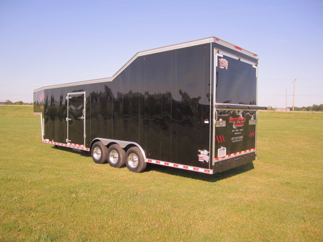 Tractor Pulling Trailer : Premier custom trailers llc schoolcraft mi business page