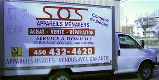 S O S Appareils Ménagers 2013 Inc à Saint-Jérôme