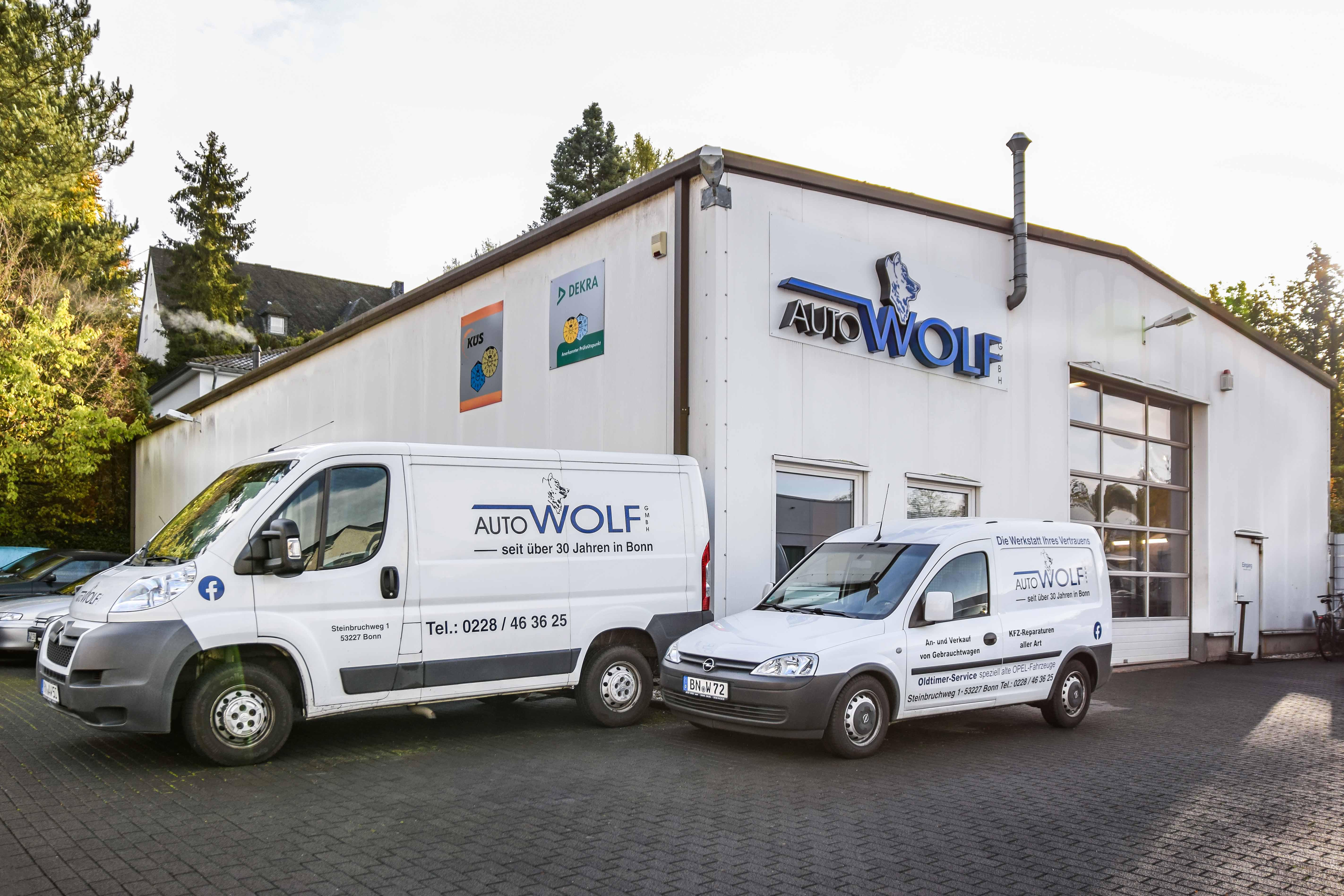 Auto Wolf GmbH KfZ-Meisterbetrieb | Bonn, Steinbruchweg 1 in Bonn
