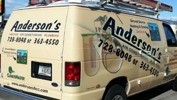 Anderson's Heating, Air Conditioning & Plumbing image 1