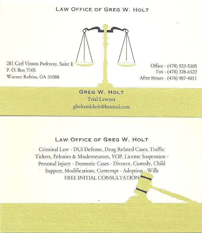 Law Office of Greg W. Holt image 1