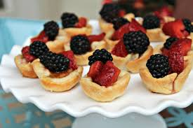 Red, White and Blue Tartlette