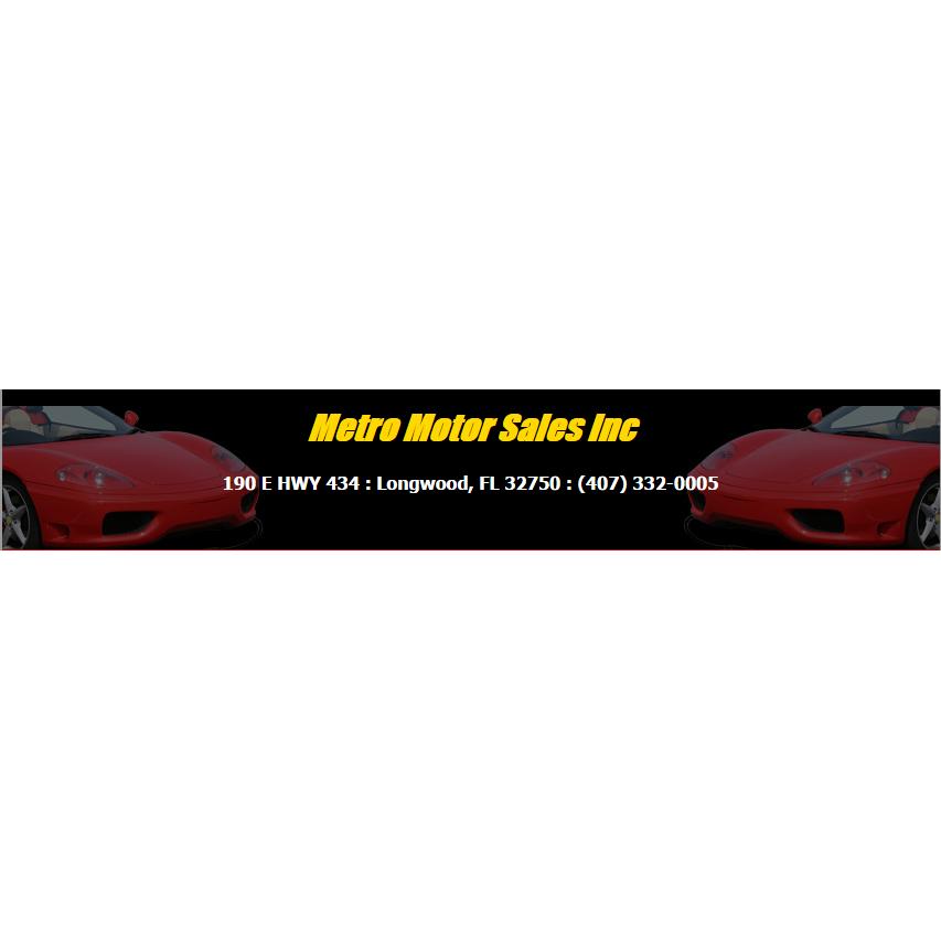Metro Motor Sales Inc.