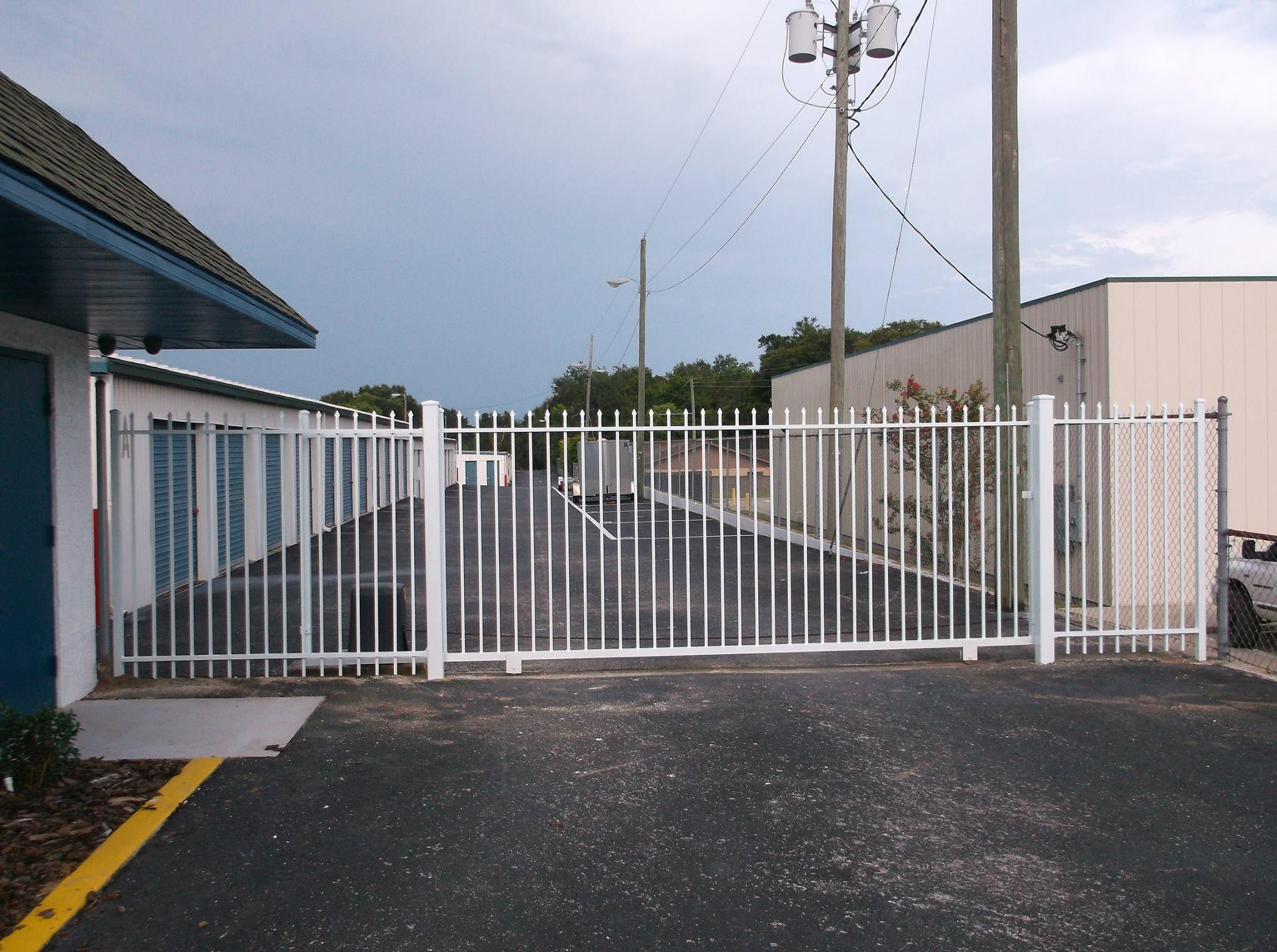 Electronic Gate Access with Code