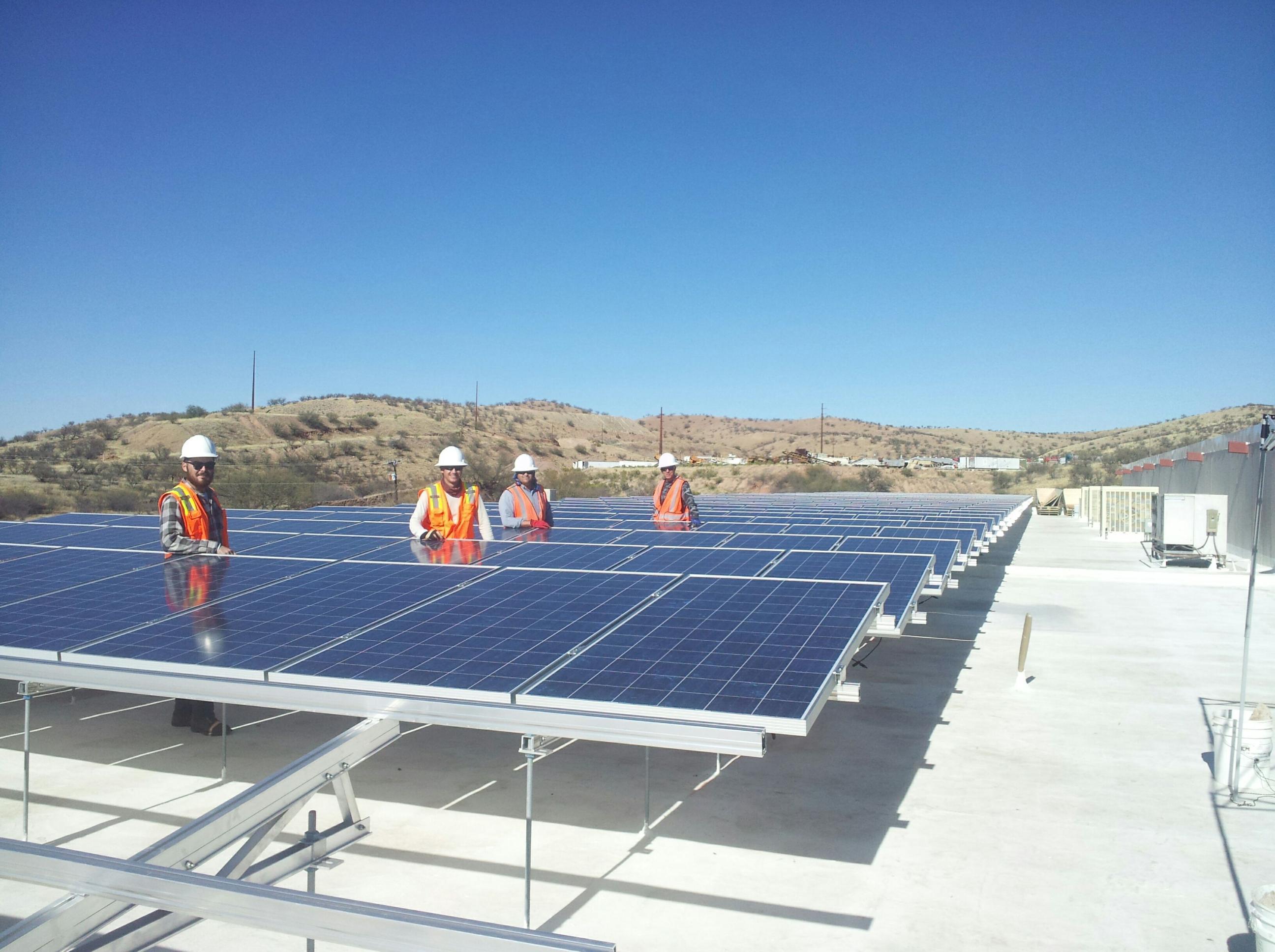 Wilson Produce Install 900kW - Nogales, AZ.