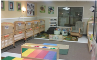 Infant Classroom  Your infant will be very comfortable in our warm and welcoming classroom. You can call and check on your baby anytime. The teachers are exceptional at communicating with you.