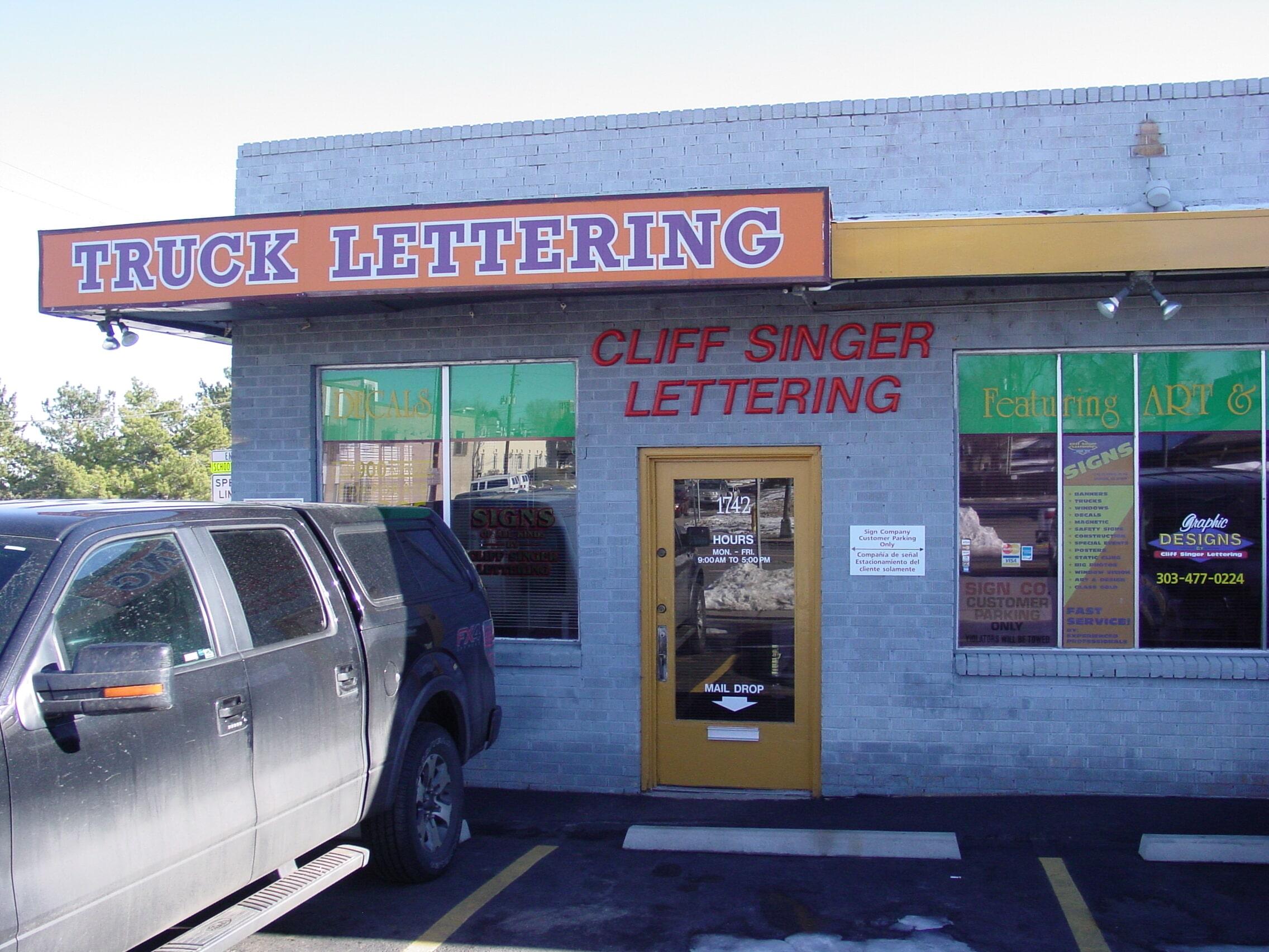 Cliff Singer Lettering Inc. image 1