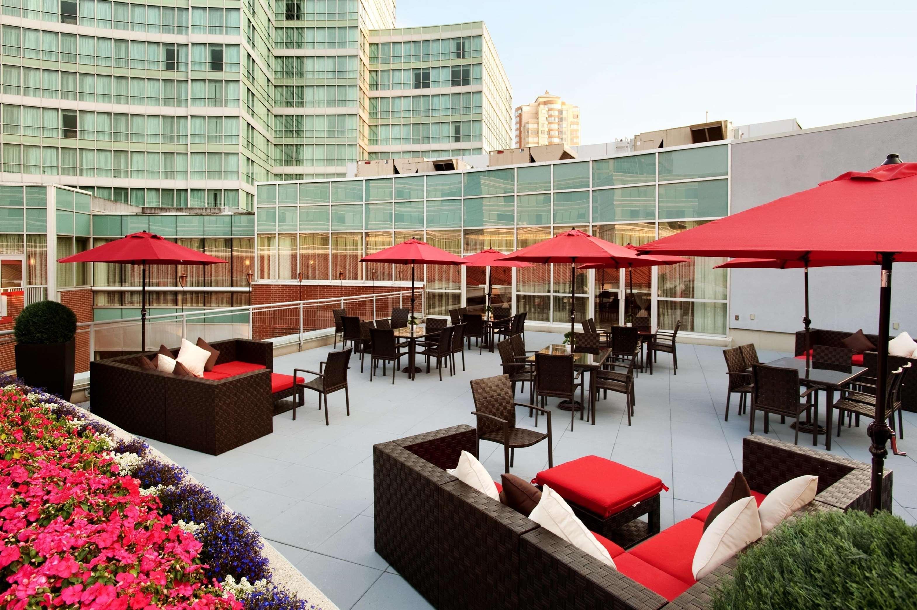 Hilton Vancouver Metrotown in Burnaby: Crystal Ballroom Terrace