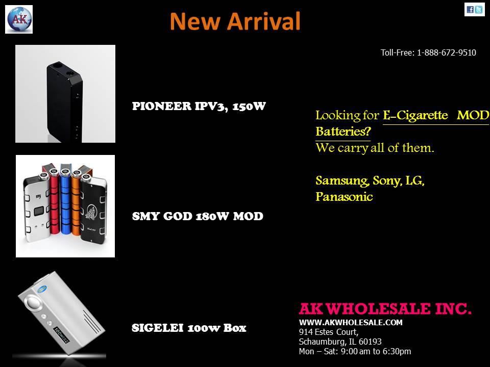 PIONEER IPV3, 150W  SMY GOD 180W MOD  SIGELEI 100W BOX