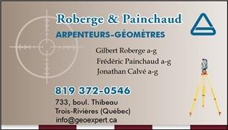 Arpenteurs Géomètres Roberge et Painchaud à Trois-Rivières