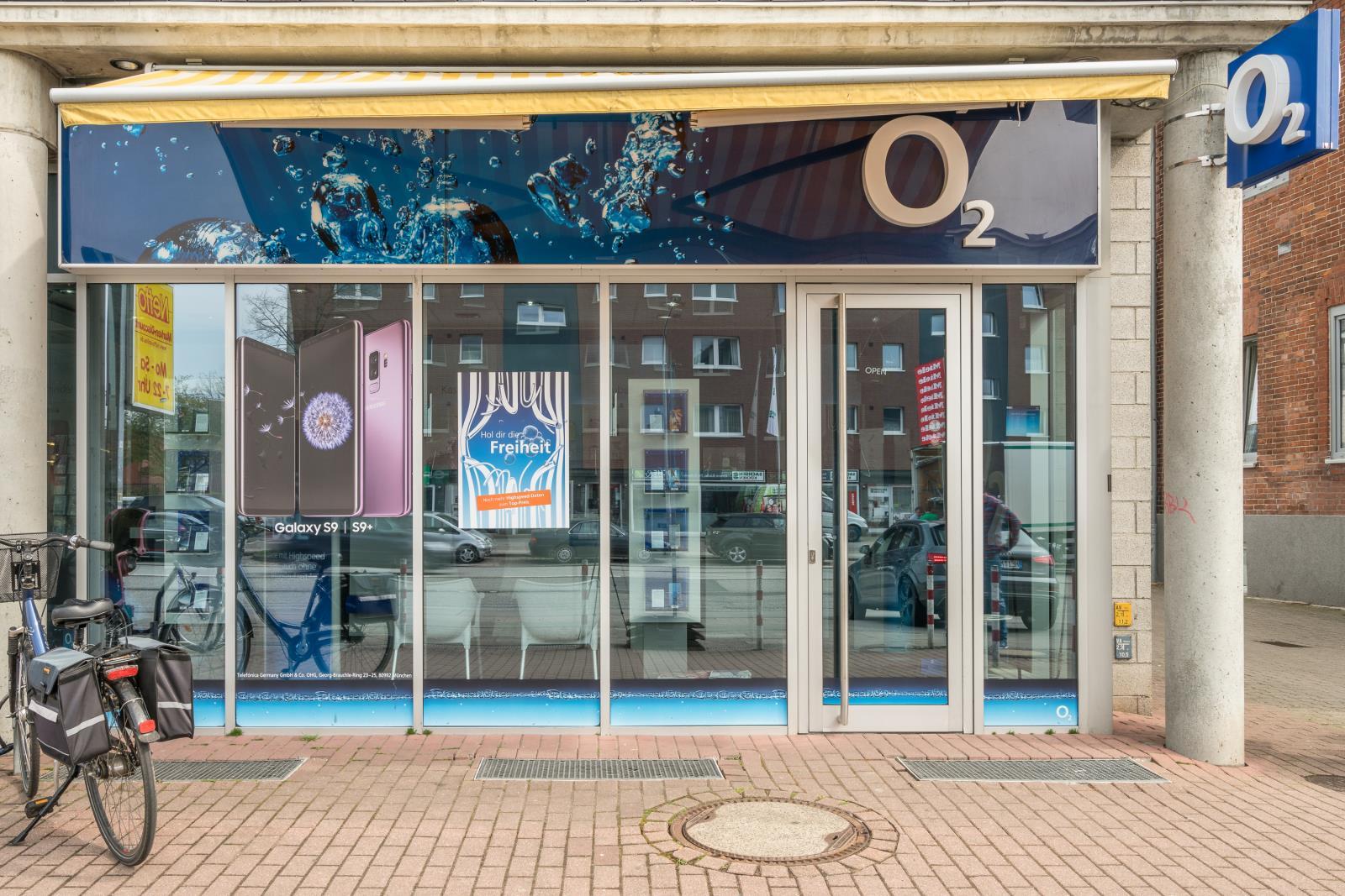 o2 Shop, Fackenburger Allee 52 in Lübeck
