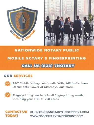 365 Notary & Fingerprint image 0