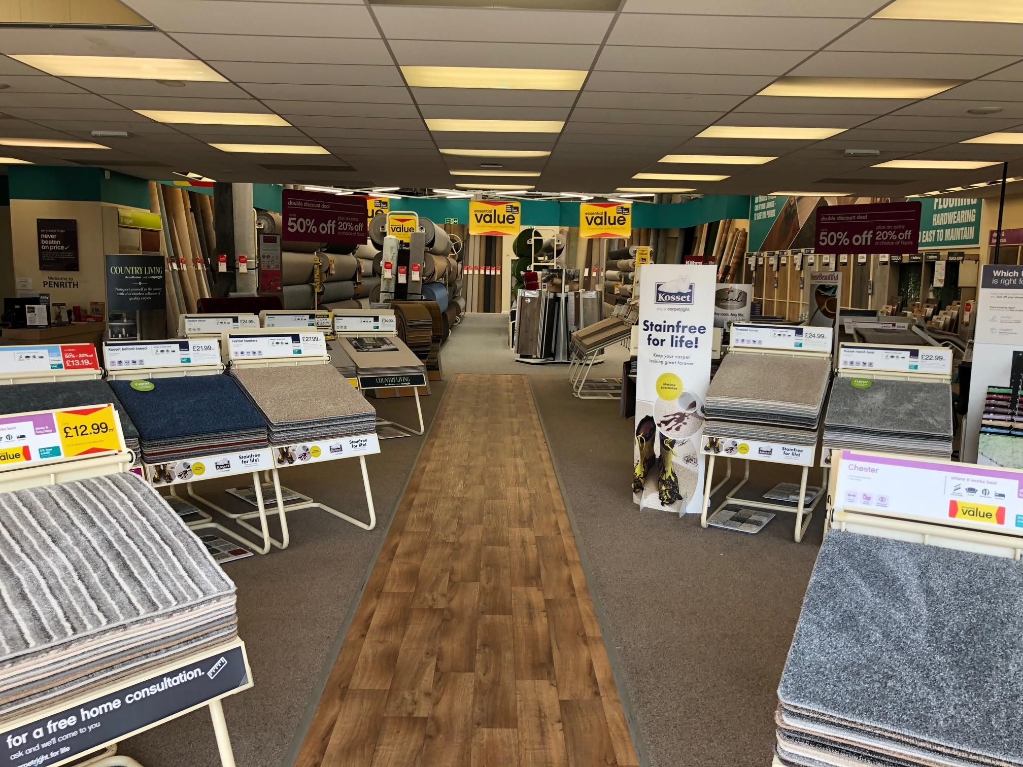 Carpetright Penrith Carpet Flooring