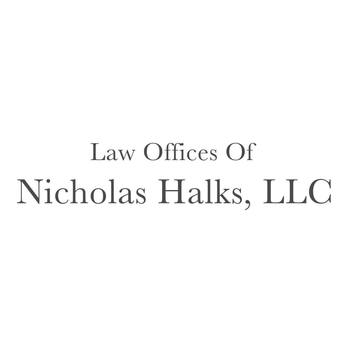 The Law Offices Of Nicholas Halks