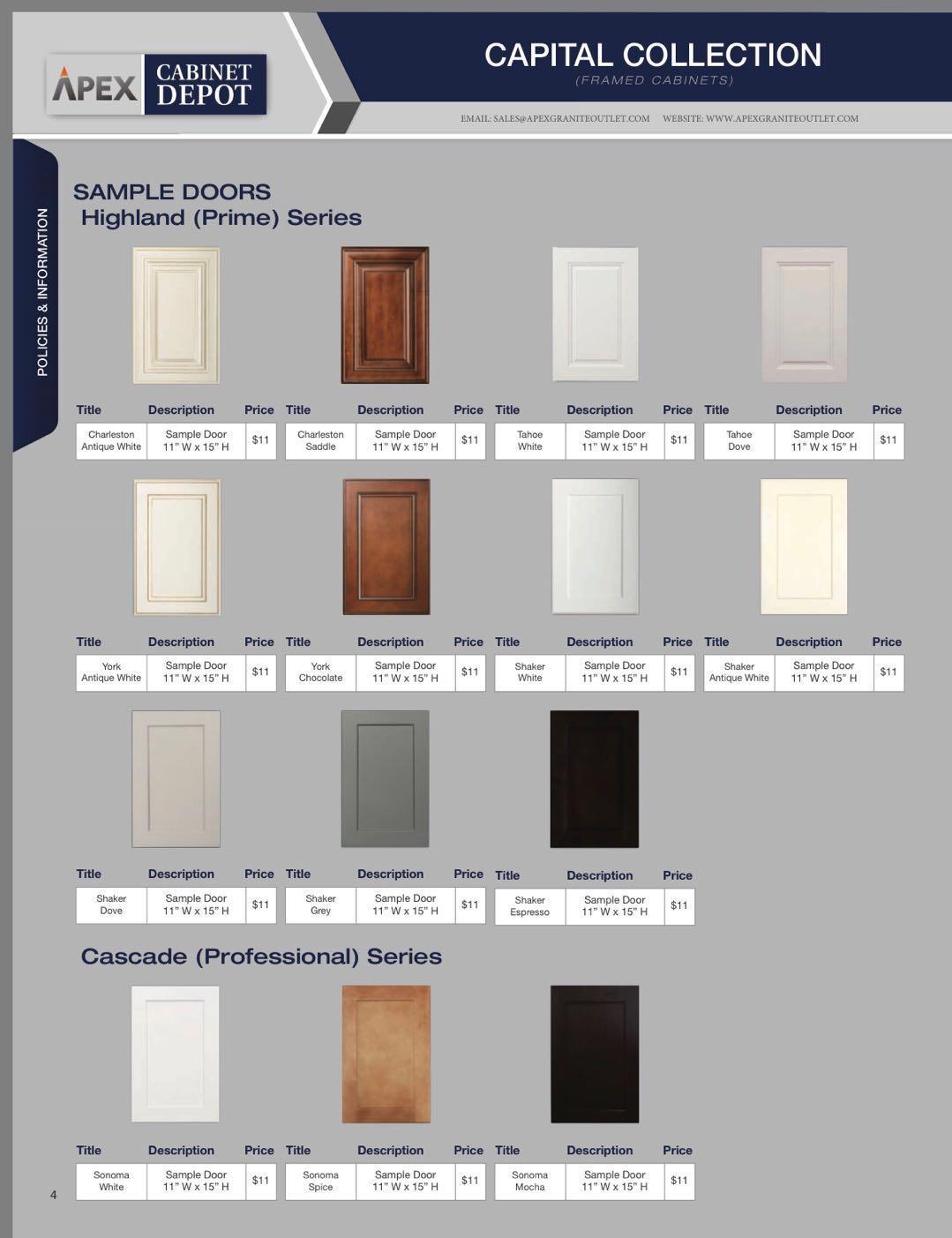 APEX Kitchen Cabinet and Granite Countertop image 26