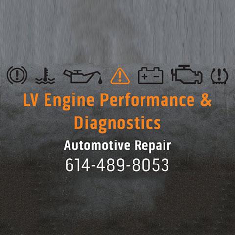 L.V. Engine Performance & Diagnostics - Columbus, OH 43207 - (614)619-8564   ShowMeLocal.com