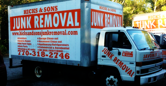 Hicks And Sons Junk Removal Coupons Near Me In Nw Atlanta
