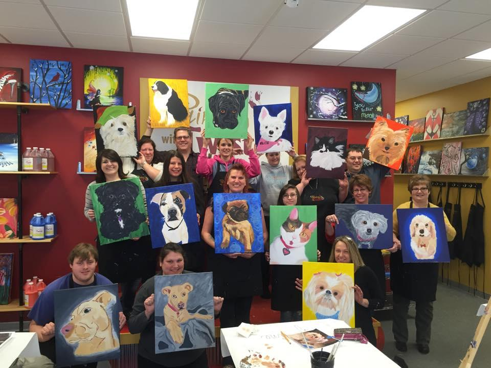 Painting with a twist coupons near me in fort gratiot for Painting with a twist chicago