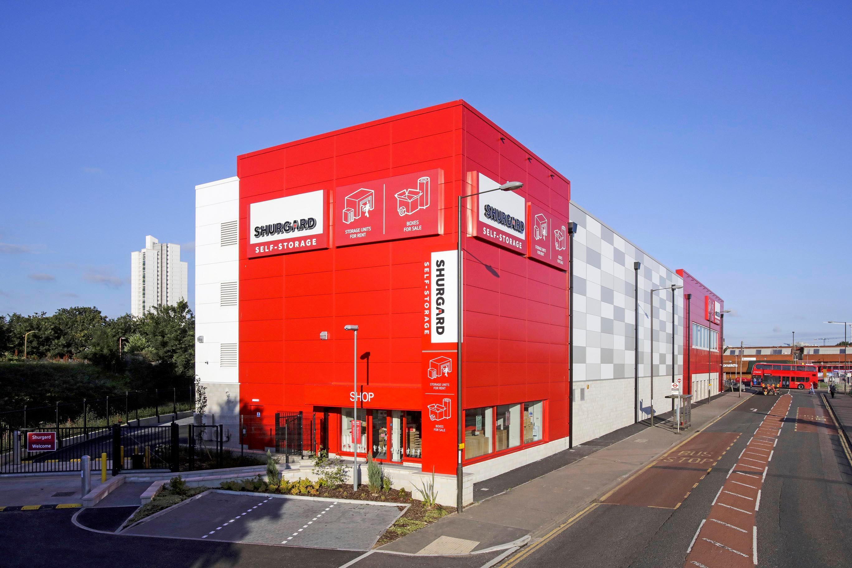 Shurgard Self Storage Woolwich Storage Facilities